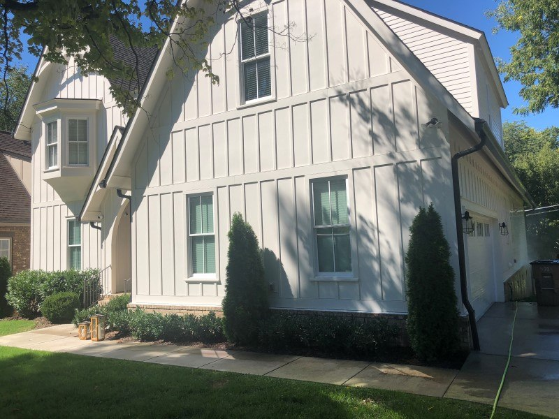 Concrete Cleaning & House Washing