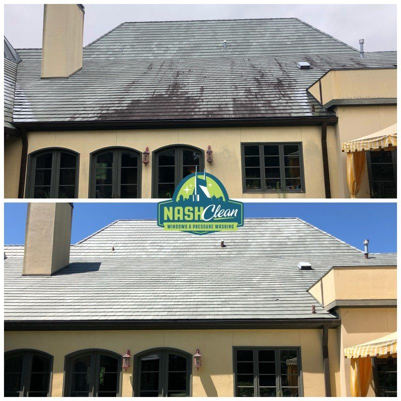 franklin roof cleaning
