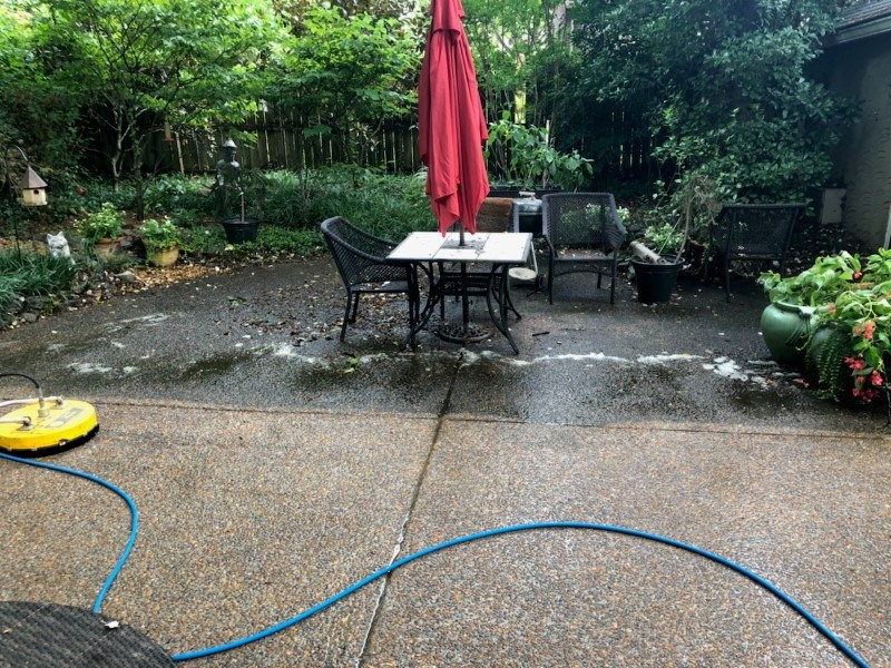 Aggregate Concrete Cleaning