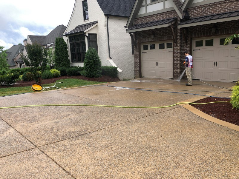nashville driveway cleaning