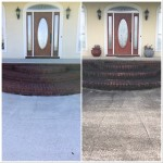 Home entrance washing