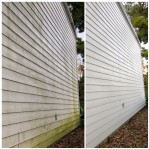 Home siding cleaning