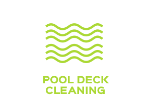 Pool deck cleaning service representation